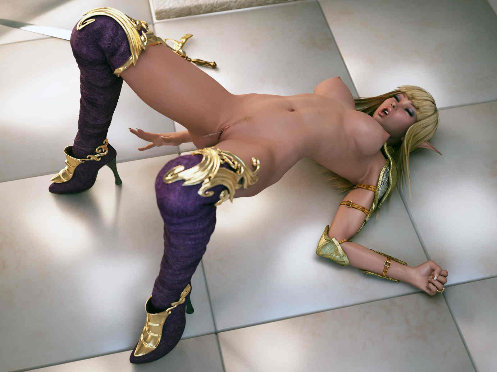 Sexy elf girl cosplay porn any more